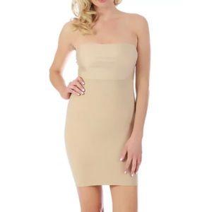 InstantFigure Strapless Hi-Waist Dress Shapewear